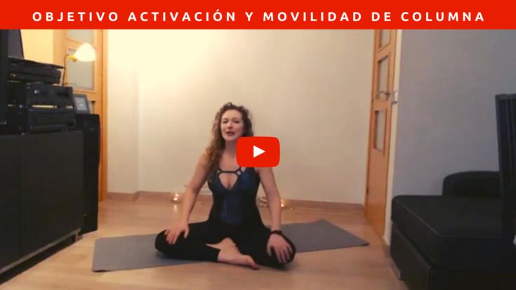 Nivel intermedio. Objetivo activación del cuerpo, movilidad y CORE.