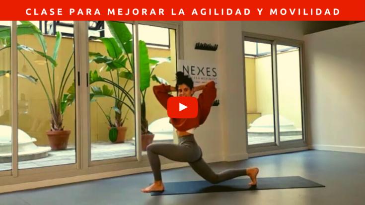Clase dando prioridad para trabajar la agilidad y movilidad de caderas