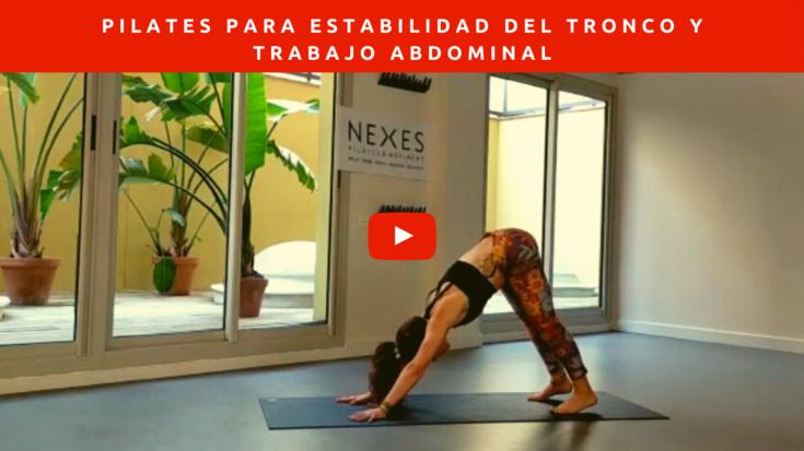 Pilates para estabilidad del tronco y trabajo abdominal
