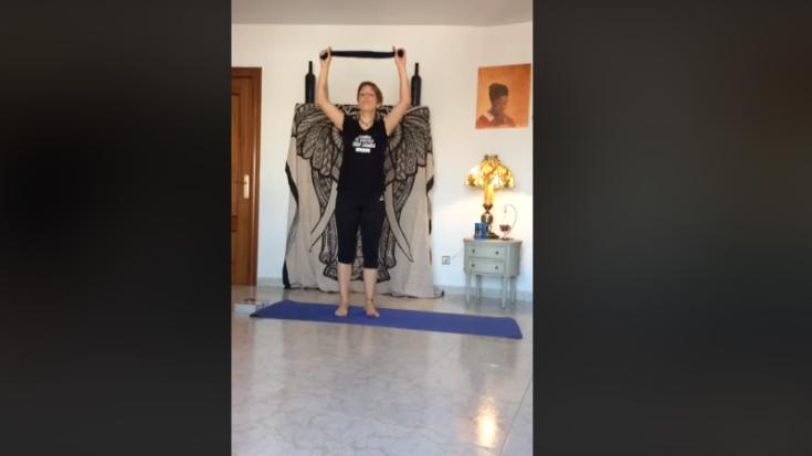 Clase de Pilates para estirar y empezar bien el día