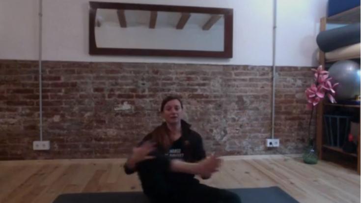 Clase de Pilates con Viviana Lunes 27/04/20 – 10am